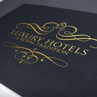 Luxury Royal Logo Photoshop Template PSD