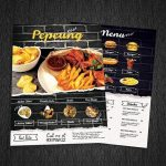 Restaurant Cafe Menu Photoshop PSD Template