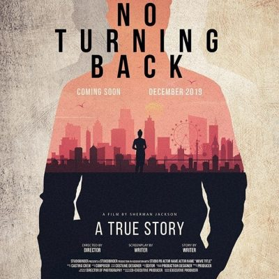 No Turning Back Church Themed Poster PSD Template