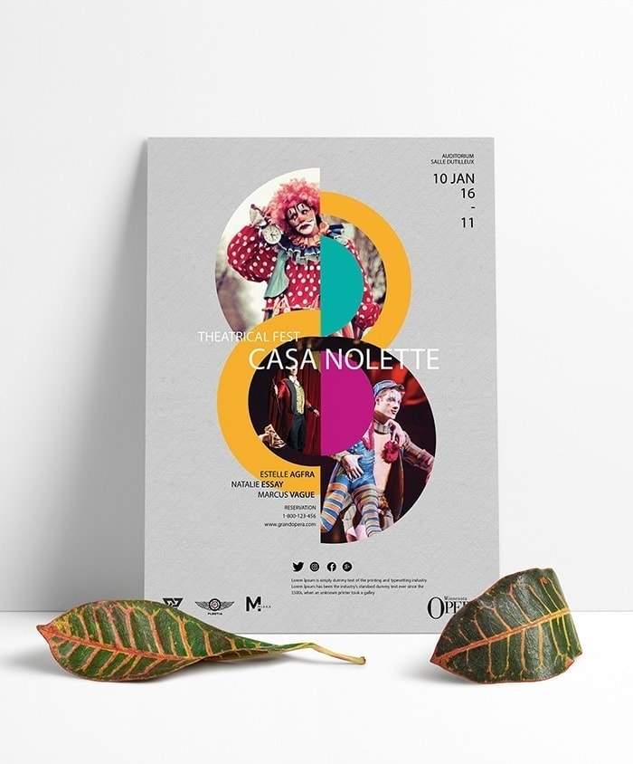 Theatrical Poster PSD Template