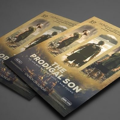 Prodigal Son Poster Template