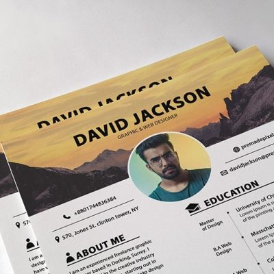 Freelancer Resume Template