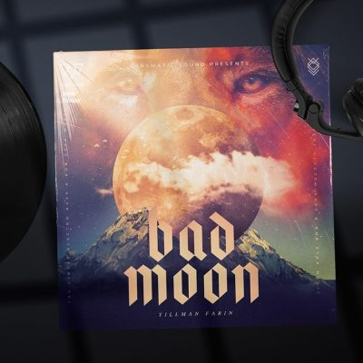 Bad Moon Album Cover Template
