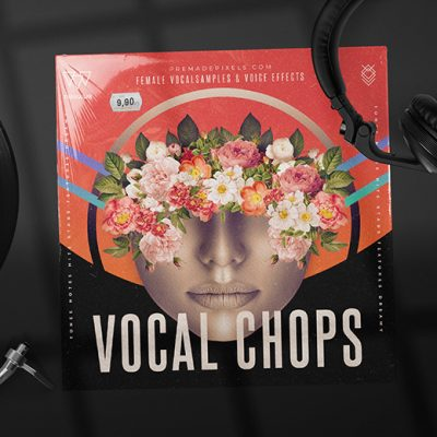 Vocal Chops Album Cover Design