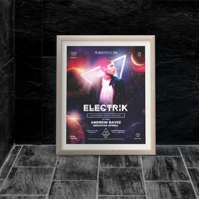 Elektrik Club Flyer Template