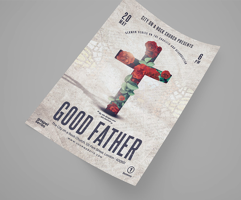 Good Father Church Poster