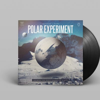 Polar Experiment Album Cover Design