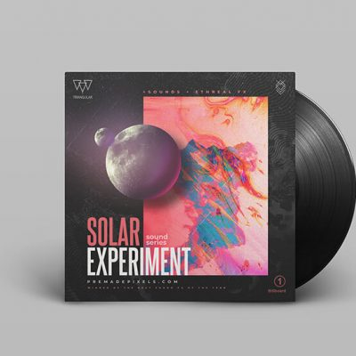 Solar Experiment Album Cover Design
