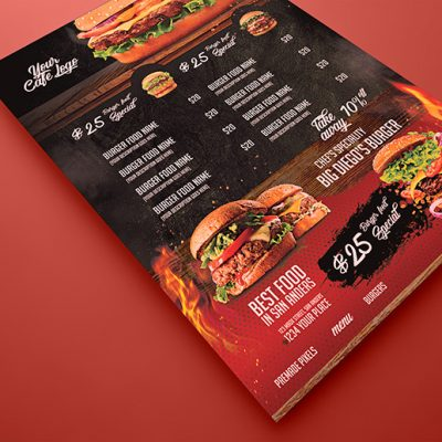 Steak House Burger Flyer
