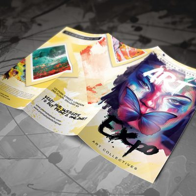 Art Brochure Template