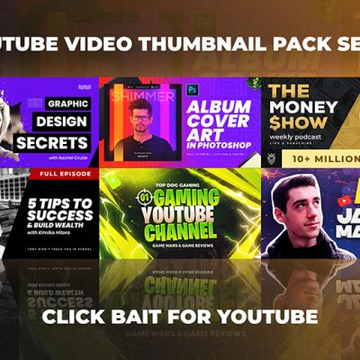 Youtube Thumbnails Set 10