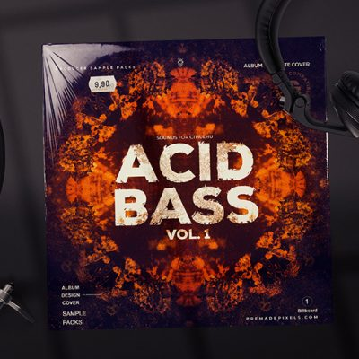Acid Bass Album Cover Art