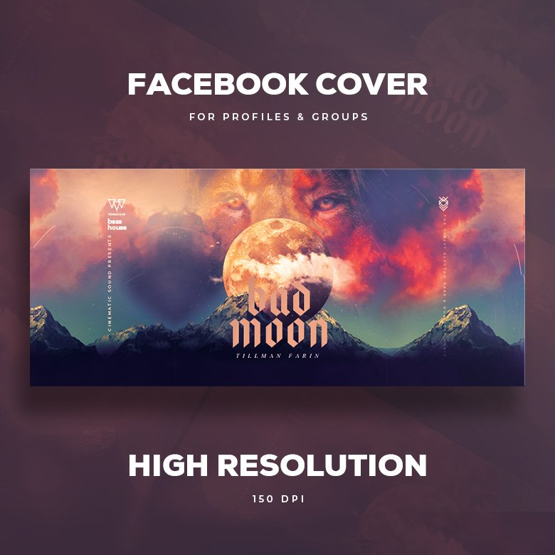 Bad Moon Facebook Cover