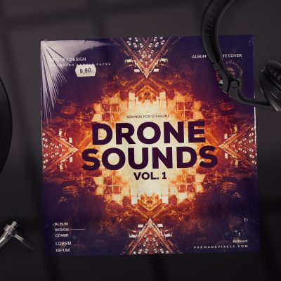 Drone Sounds Album Cover