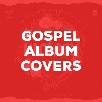 Gospel Album Covers