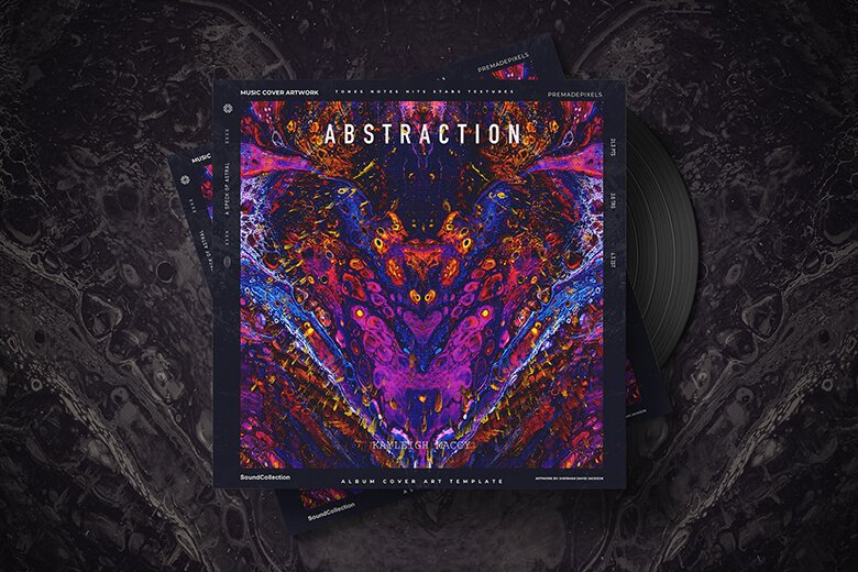 Abstraction Album Cover Art